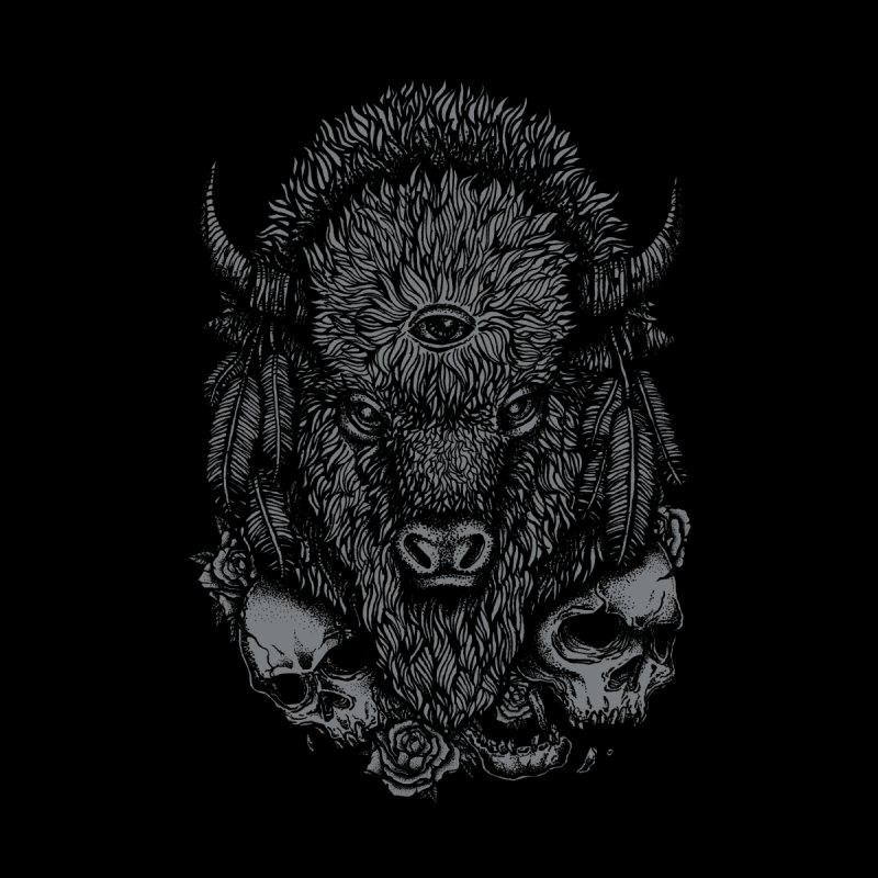 Bison None  by Deniart's Artist Shop