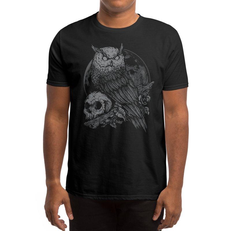 Night Watcher Men's T-Shirt by Deniart's Artist Shop