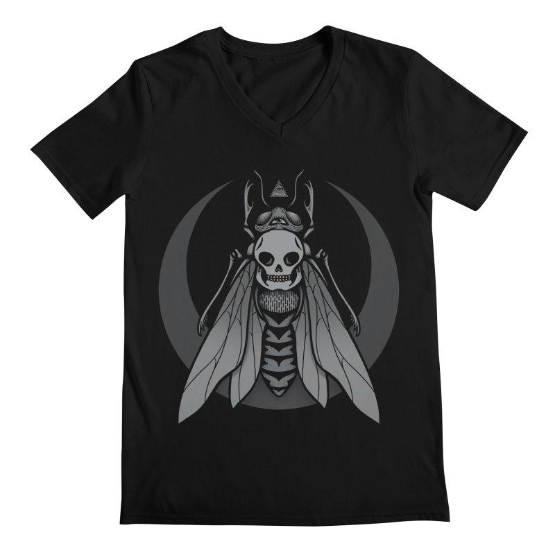 Occult Renewal Men's V-Neck by Deniart's Artist Shop