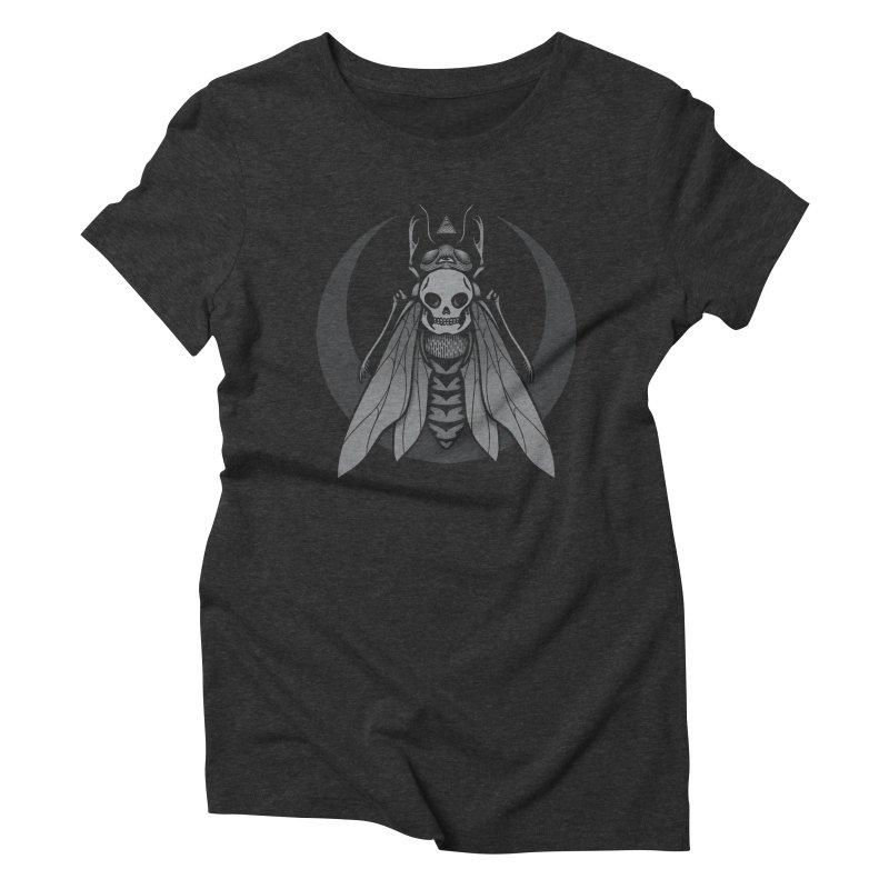 Occult Renewal Women's Triblend T-Shirt by Deniart's Artist Shop