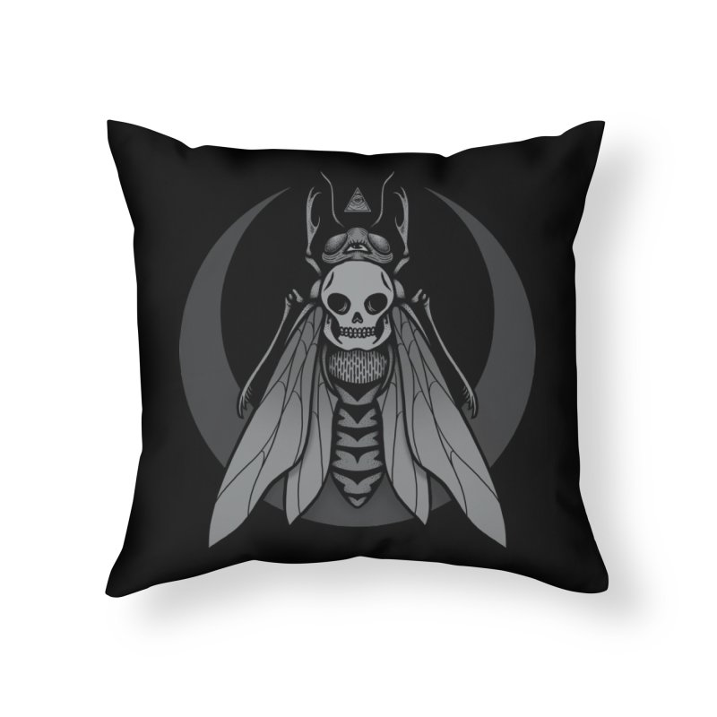 Occult Renewal Home Throw Pillow by Deniart's Artist Shop