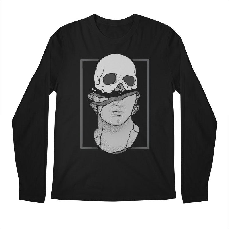 Deconstruction Men's Longsleeve T-Shirt by Deniart's Artist Shop