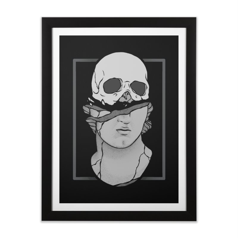 Deconstruction Home Framed Fine Art Print by Deniart's Artist Shop