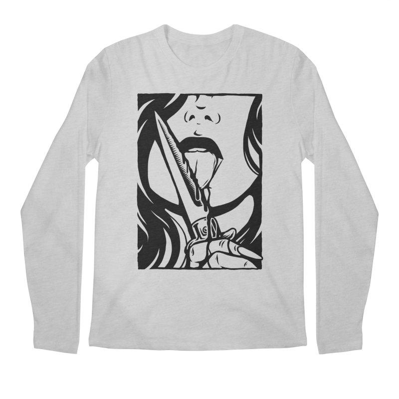 Dangerous Girl Men's Regular Longsleeve T-Shirt by Deniart's Artist Shop