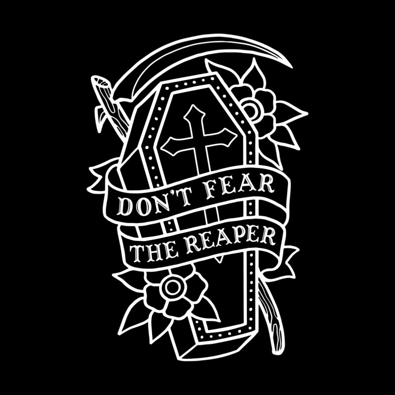Don't Fear The Reaper Women's Longsleeve T-Shirt by Deniart's Artist Shop