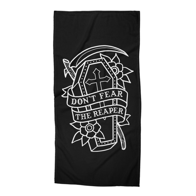 Don't Fear The Reaper Accessories Beach Towel by Deniart's Artist Shop