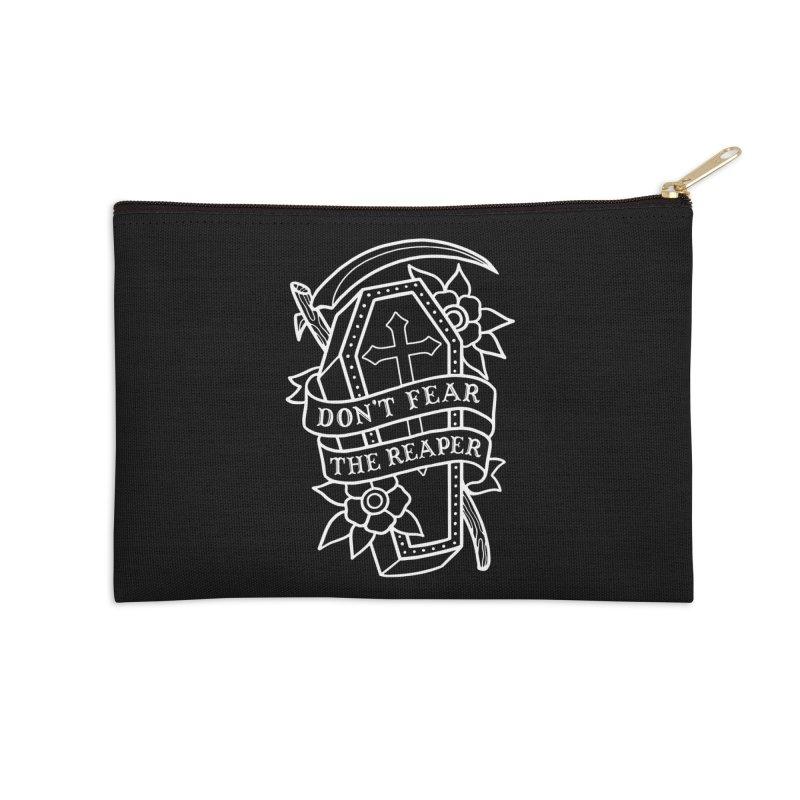 Don't Fear The Reaper Accessories Zip Pouch by Deniart's Artist Shop