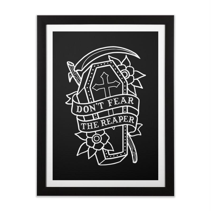 Don't Fear The Reaper Home Framed Fine Art Print by Deniart's Artist Shop