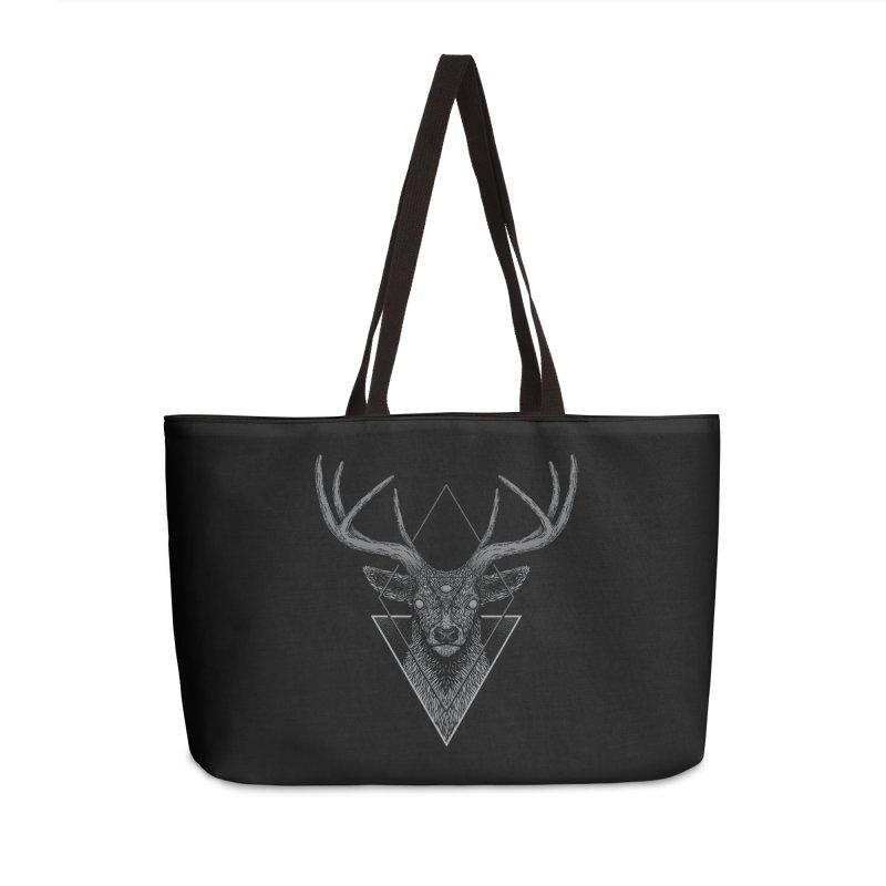 Dark Deer Accessories Weekender Bag Bag by Deniart's Artist Shop