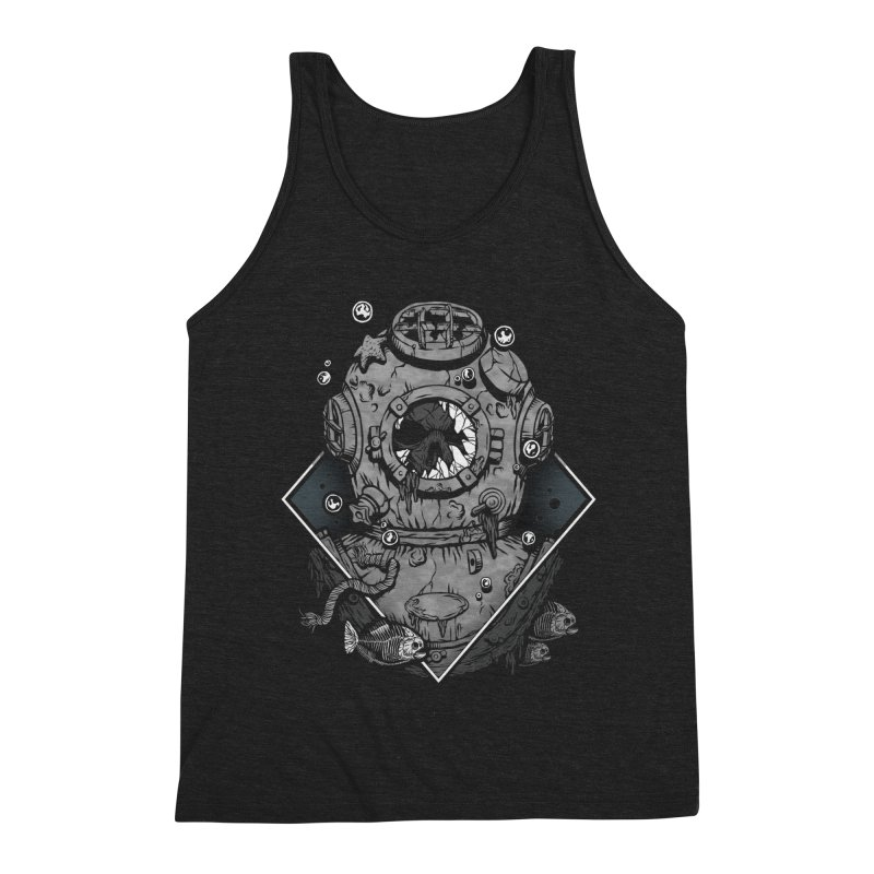 Forgetfulness Men's Triblend Tank by Deniart's Artist Shop