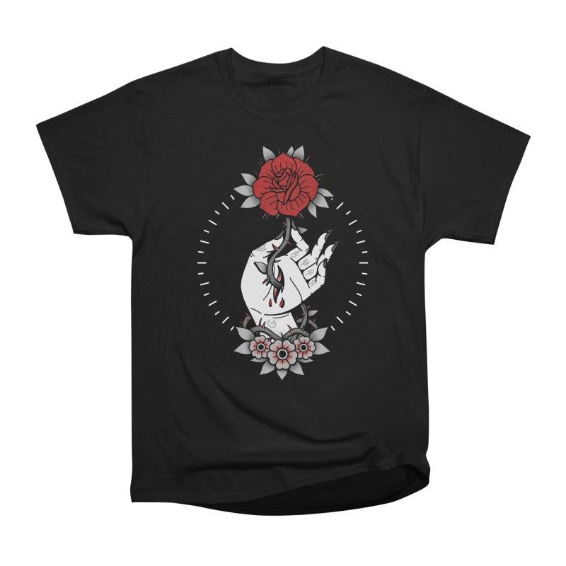 Deadly Love Men's Heavyweight T-Shirt by Deniart's Artist Shop
