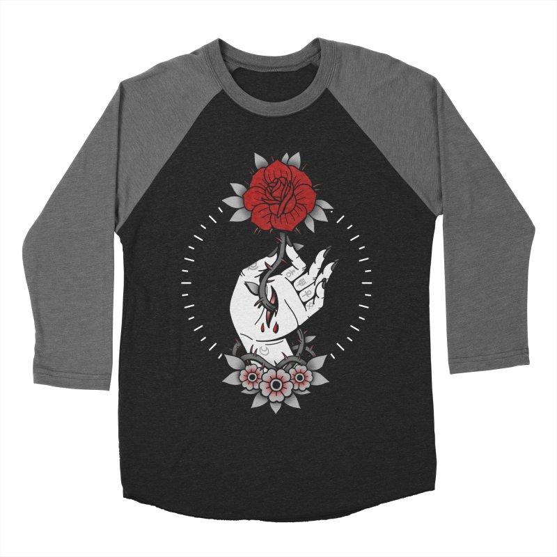Deadly Love Men's Baseball Triblend T-Shirt by Deniart's Artist Shop