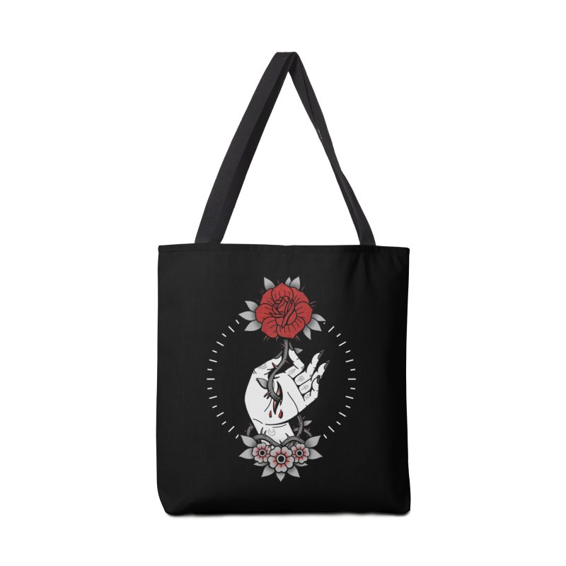 Deadly Love Accessories Bag by Deniart's Artist Shop