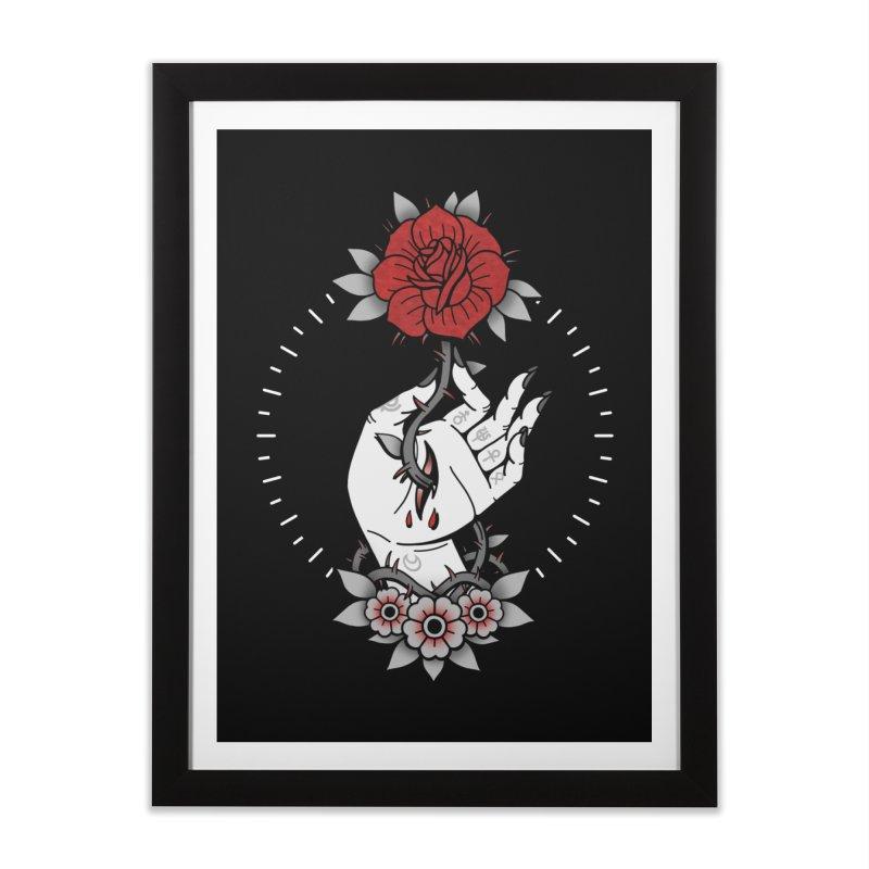 Deadly Love Home Framed Fine Art Print by Deniart's Artist Shop
