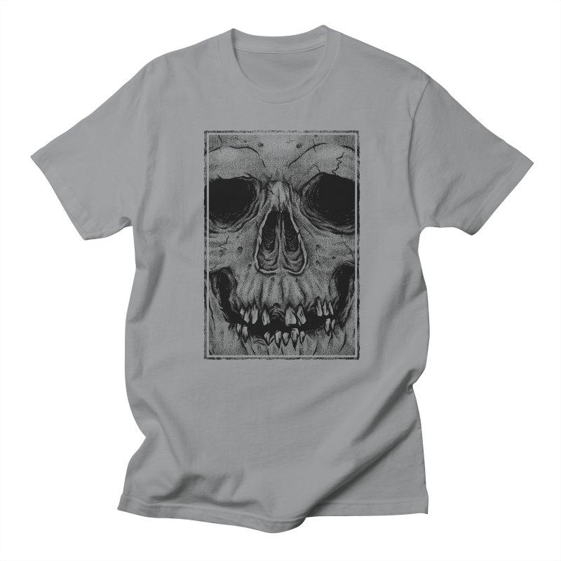SKULL Women's Regular Unisex T-Shirt by Deniart's Artist Shop