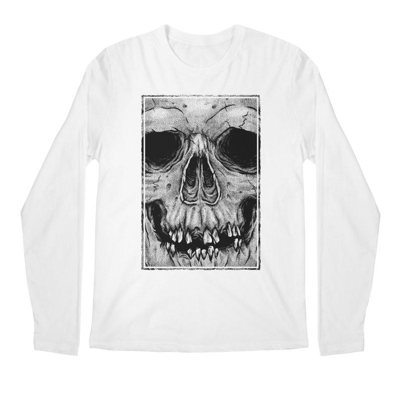 SKULL Men's Regular Longsleeve T-Shirt by Deniart's Artist Shop