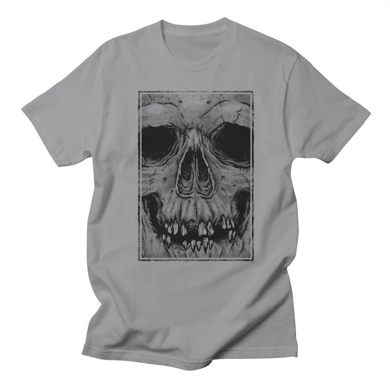 SKULL Men's Regular T-Shirt by Deniart's Artist Shop