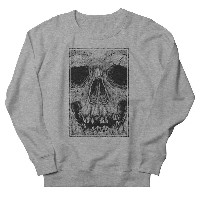 SKULL Women's French Terry Sweatshirt by Deniart's Artist Shop