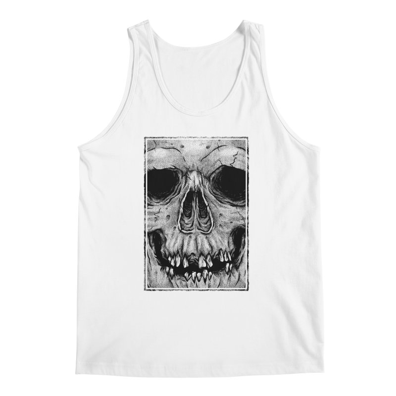 SKULL Men's Regular Tank by Deniart's Artist Shop