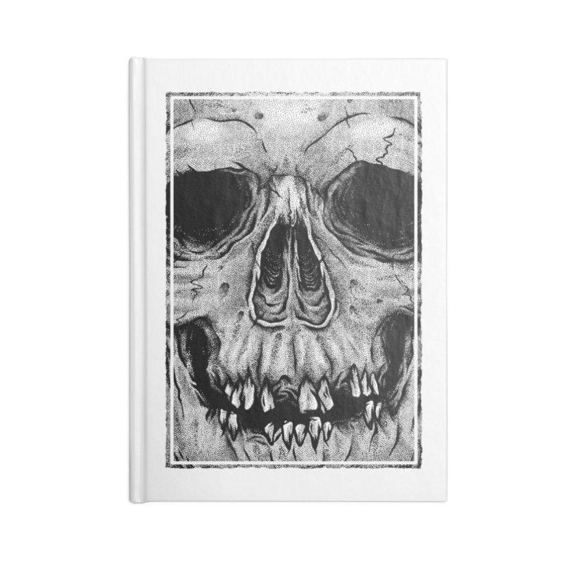 SKULL Accessories Notebook by Deniart's Artist Shop