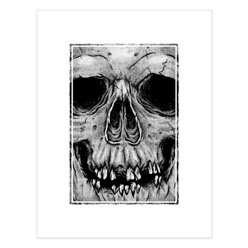 SKULL Home Fine Art Print by Deniart's Artist Shop