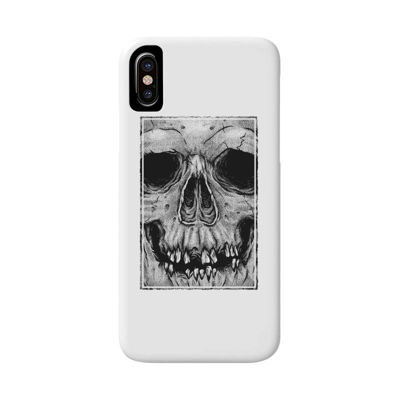 SKULL Accessories Phone Case by Deniart's Artist Shop