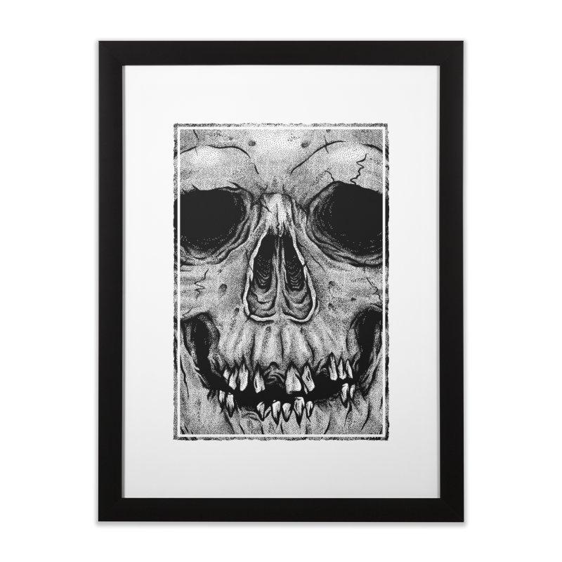 SKULL Home Framed Fine Art Print by Deniart's Artist Shop