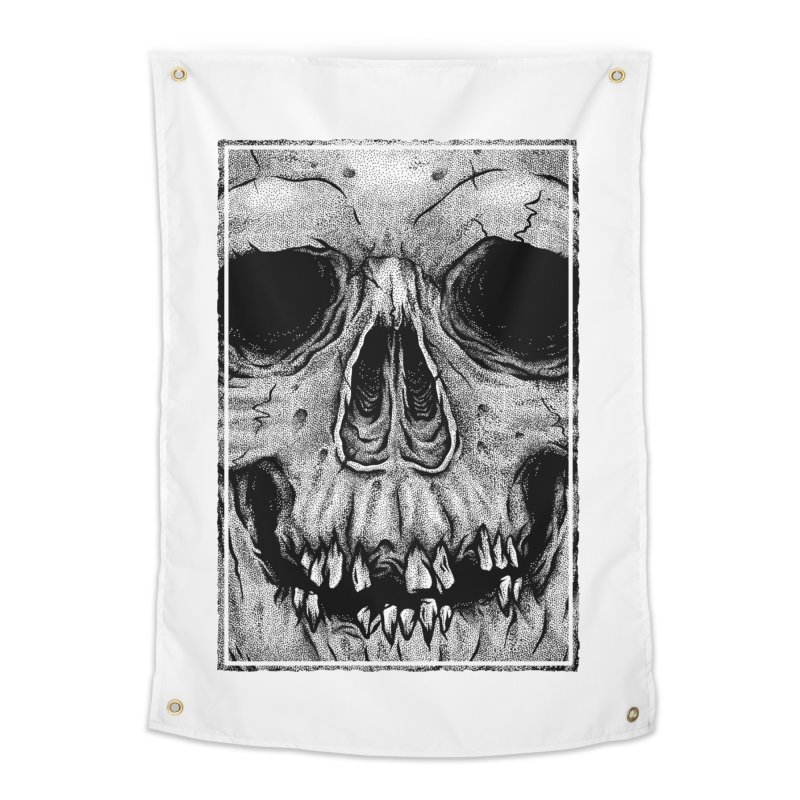 SKULL Home Tapestry by Deniart's Artist Shop
