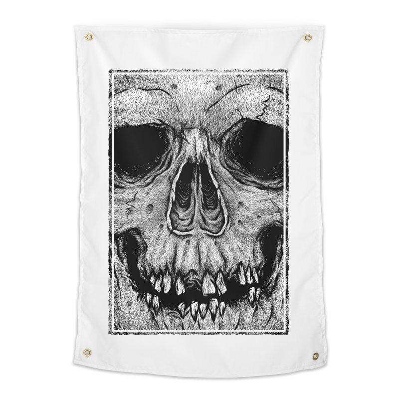 SKULL Home Tapestry by Deniart's Artist Shop