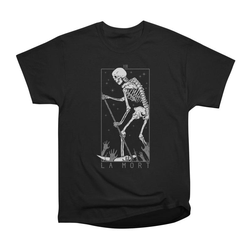 La Mort Men's Heavyweight T-Shirt by Deniart's Artist Shop