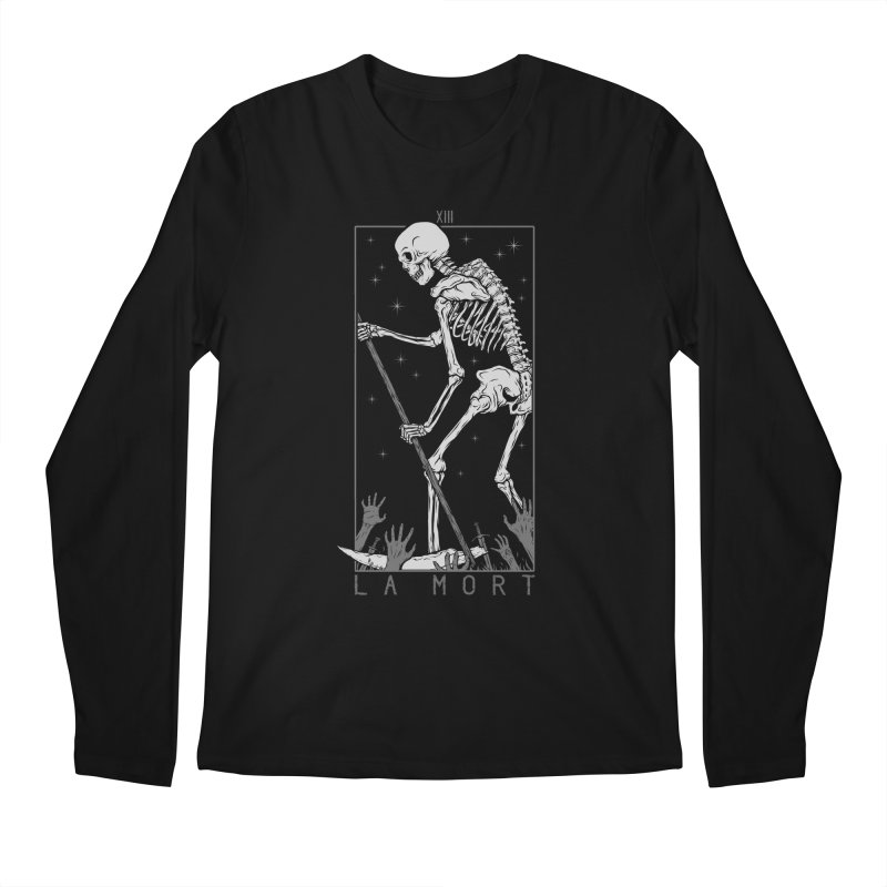 La Mort Men's Regular Longsleeve T-Shirt by Deniart's Artist Shop