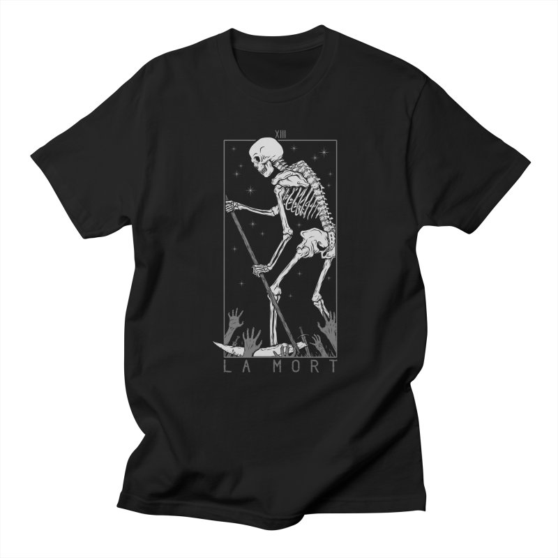 La Mort Men's Regular T-Shirt by Deniart's Artist Shop