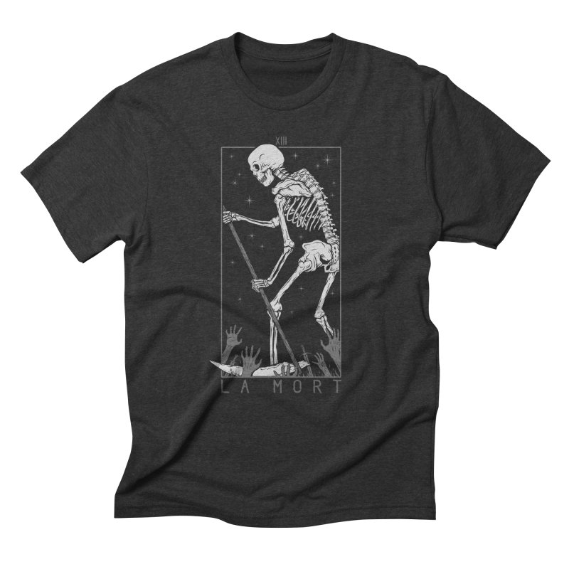 La Mort Men's Triblend T-Shirt by Deniart's Artist Shop