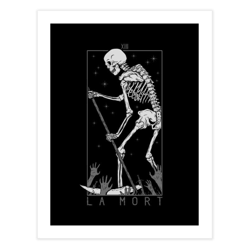 La Mort Home Fine Art Print by Deniart's Artist Shop