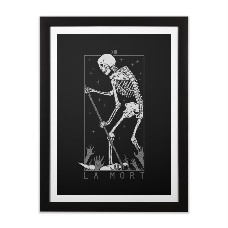 La Mort Home Framed Fine Art Print by Deniart's Artist Shop
