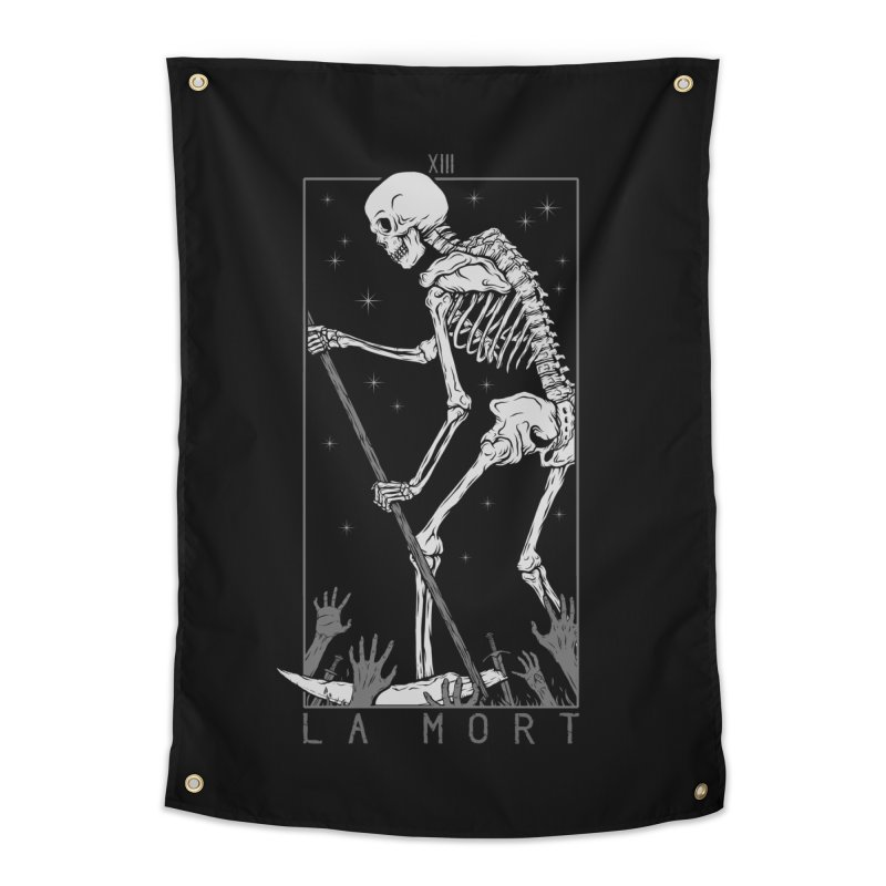 La Mort Home Tapestry by Deniart's Artist Shop