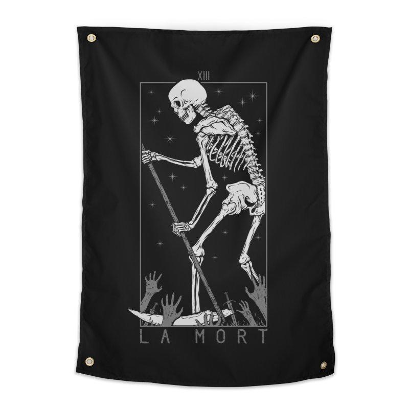 La Mort Home Tapestry by Deniart's Artist Shop