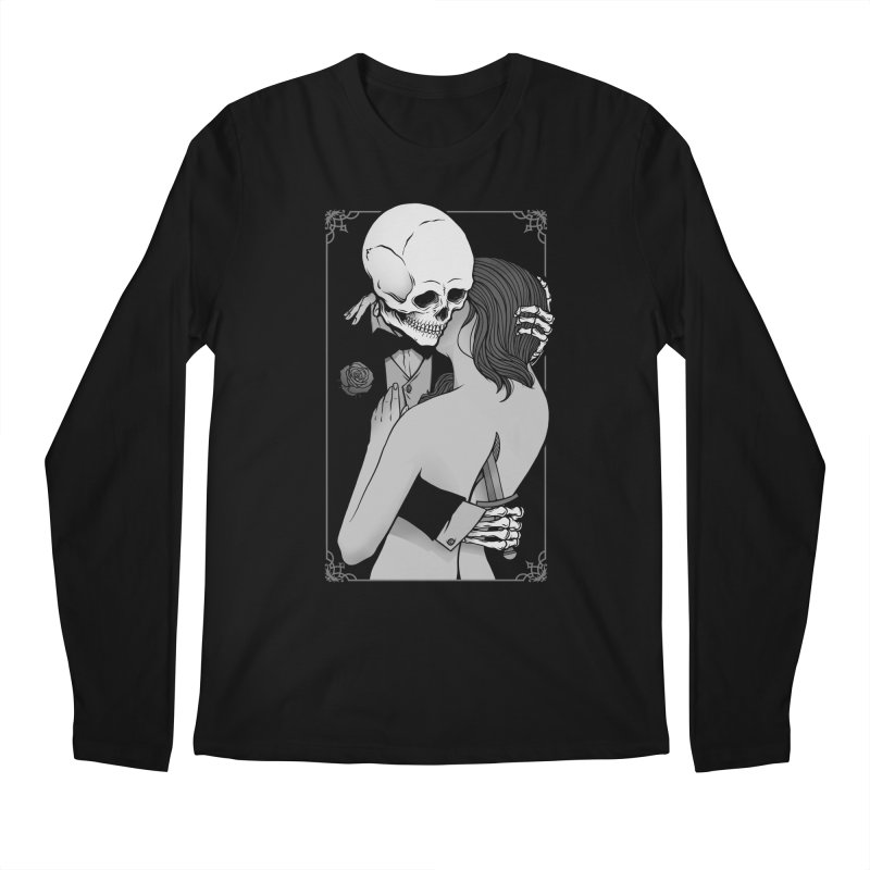 Love and Death Men's Regular Longsleeve T-Shirt by Deniart's Artist Shop