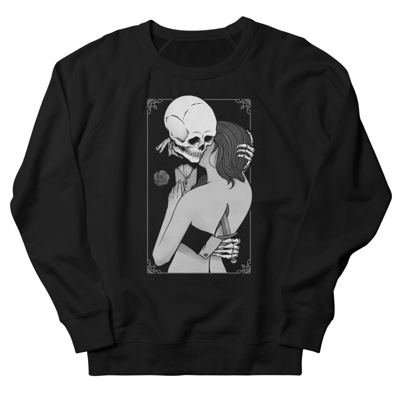 Love and Death Men's French Terry Sweatshirt by Deniart's Artist Shop