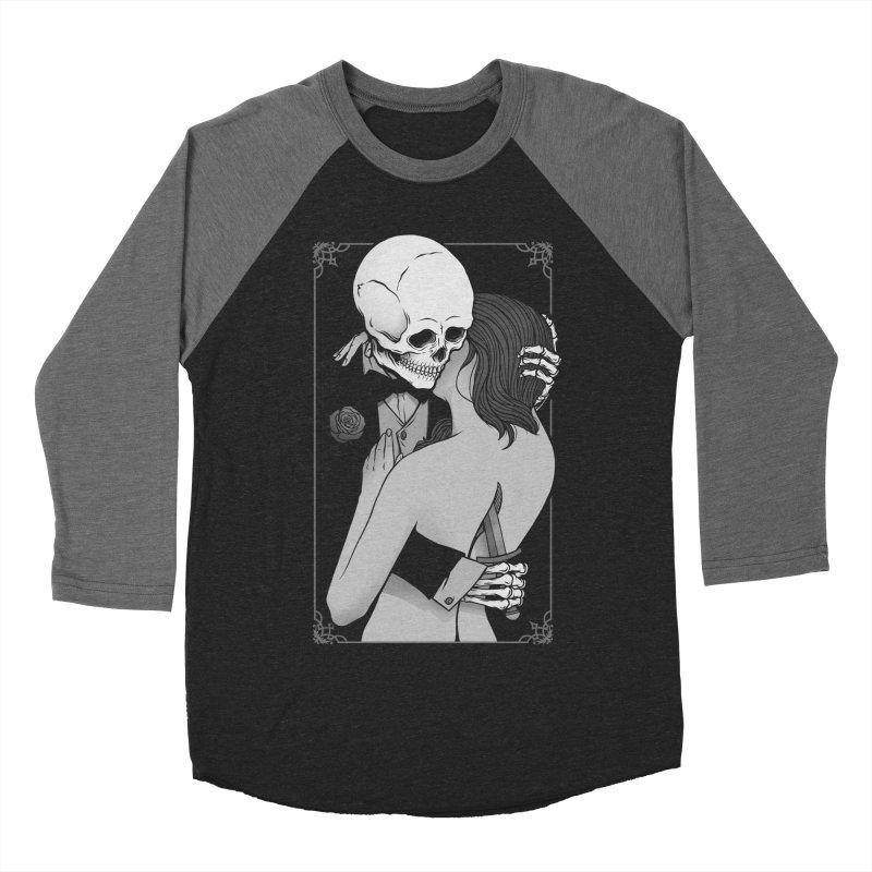 Love and Death Women's Baseball Triblend Longsleeve T-Shirt by Deniart's Artist Shop