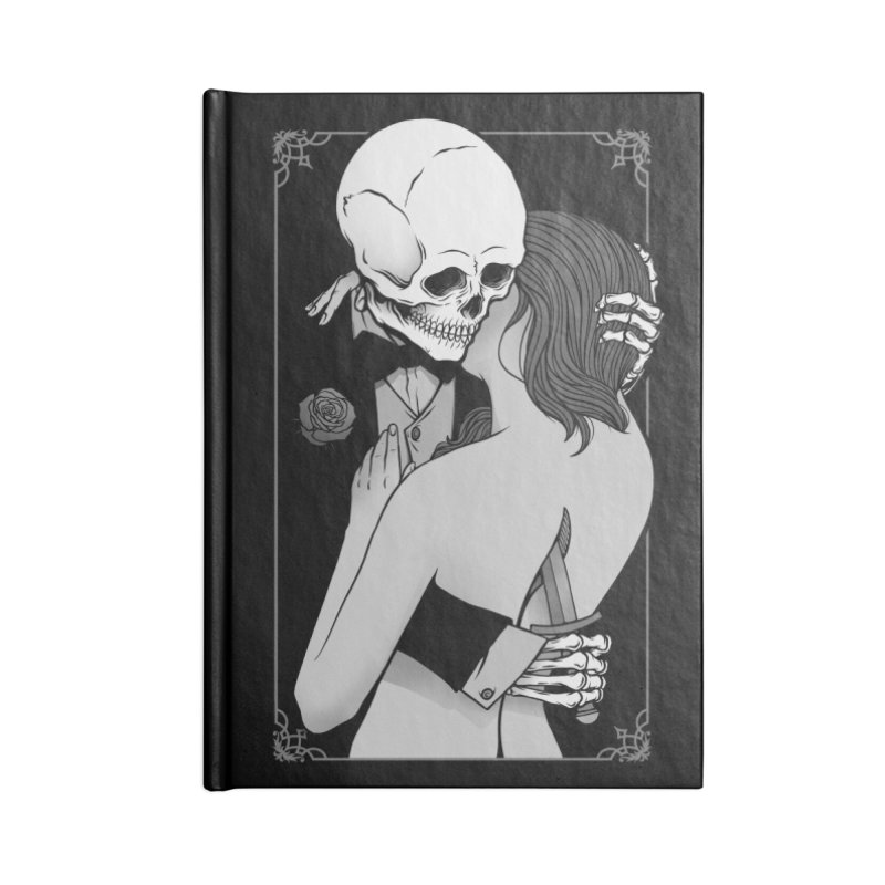 Love and Death Accessories Notebook by Deniart's Artist Shop