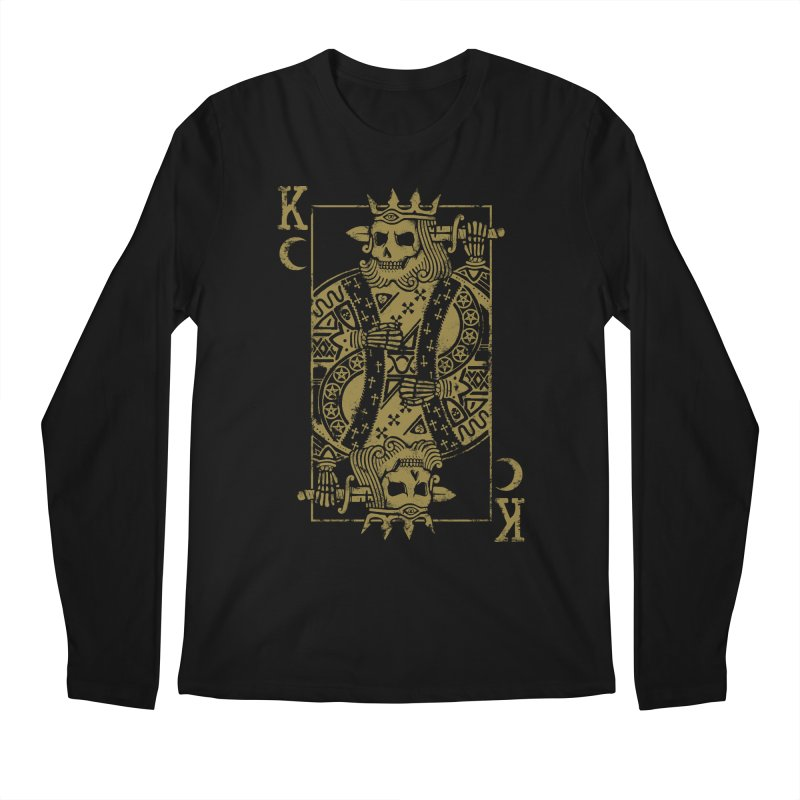 Suicide King Men's Regular Longsleeve T-Shirt by Deniart's Artist Shop