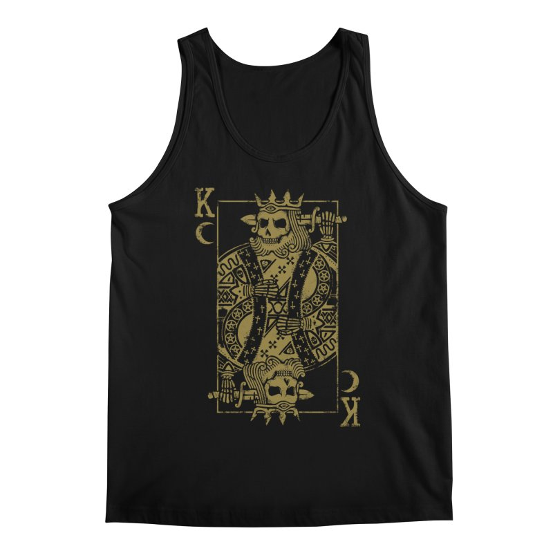 Suicide King Men's Regular Tank by Deniart's Artist Shop