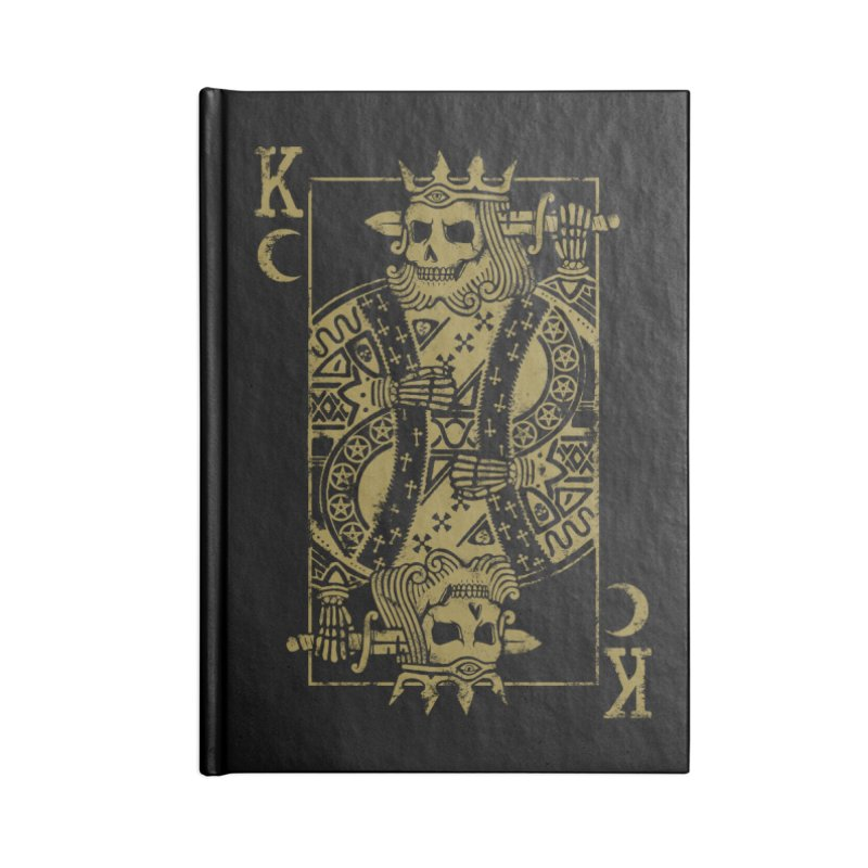 Suicide King Accessories Notebook by Deniart's Artist Shop