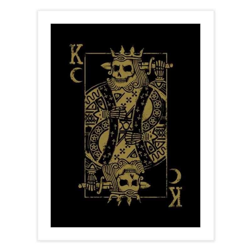 Suicide King Home Fine Art Print by Deniart's Artist Shop