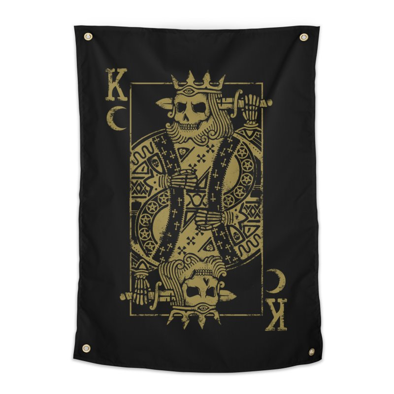 Suicide King Home Tapestry by Deniart's Artist Shop