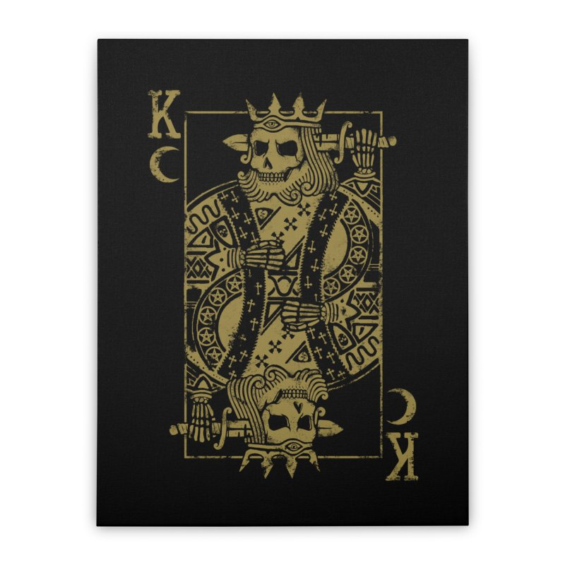 Suicide King Home Stretched Canvas by Deniart's Artist Shop