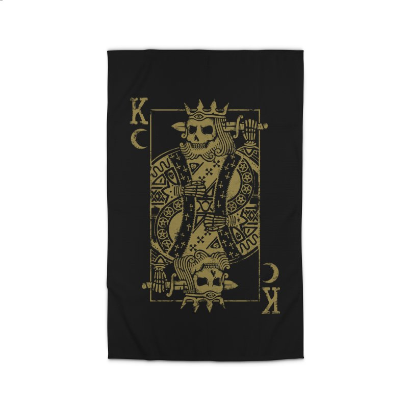 Suicide King Home Rug by Deniart's Artist Shop