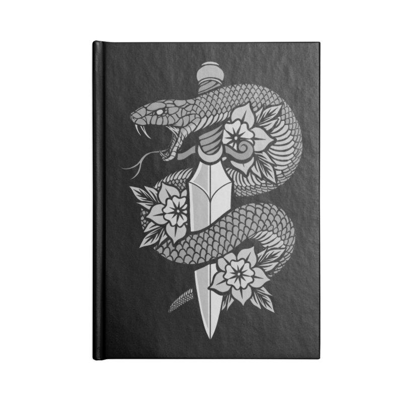 Snake & Dagger Accessories Notebook by Deniart's Artist Shop