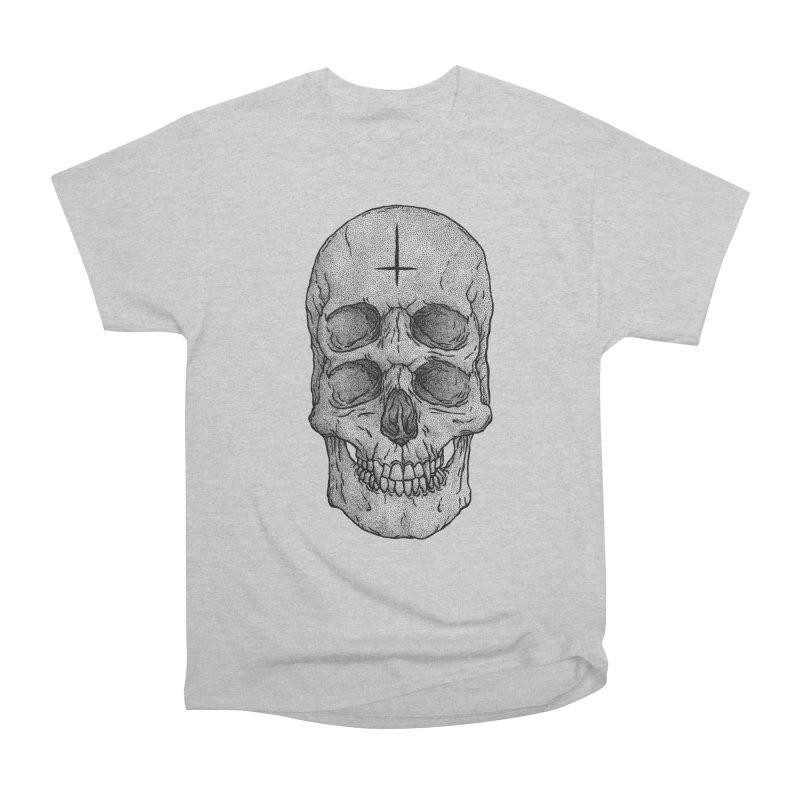 Skull Women's Classic Unisex T-Shirt by Deniart's Artist Shop